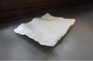 ACHERON, India Leire 130 x 120 x 30 cm Platre, metal, 2014